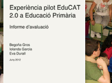 Pilot EduCAT 2.0 in Primary Education