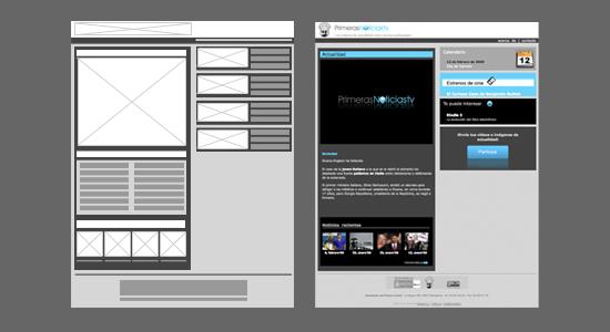 Primeras Noticias TV Website